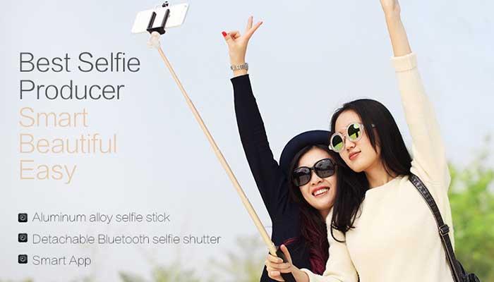 Монопод для отличных селфи - Rock Selfie Shutter Stick ROT0701! Купить в магазине DERJAK.RU