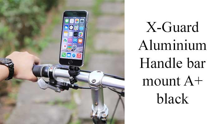 X-Guard Aluminium Handle bar mount A+ black