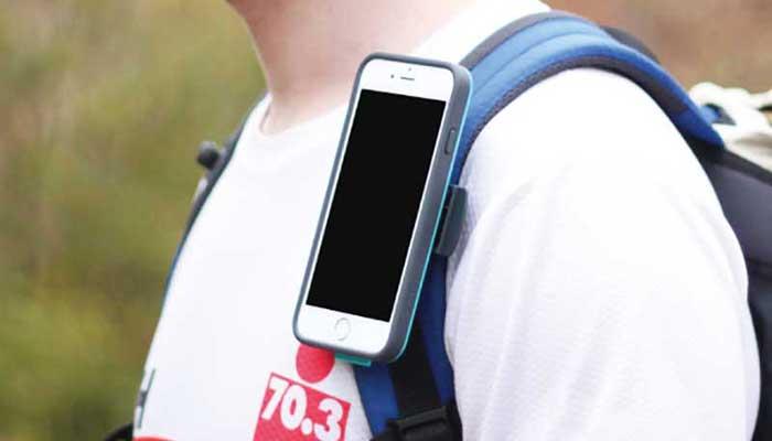 Держатель для телефона с клипсой на ремень или лямку X-Guard Belt Clip