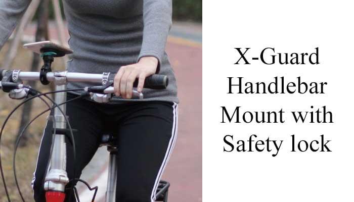 Уникальный держатель на велосипед Держатель для телефона на руль велосипеда X-Guard Handlebar Mount