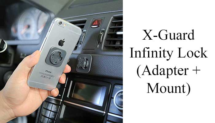 X-Guard Infinity Lock (Adapter + Mount)