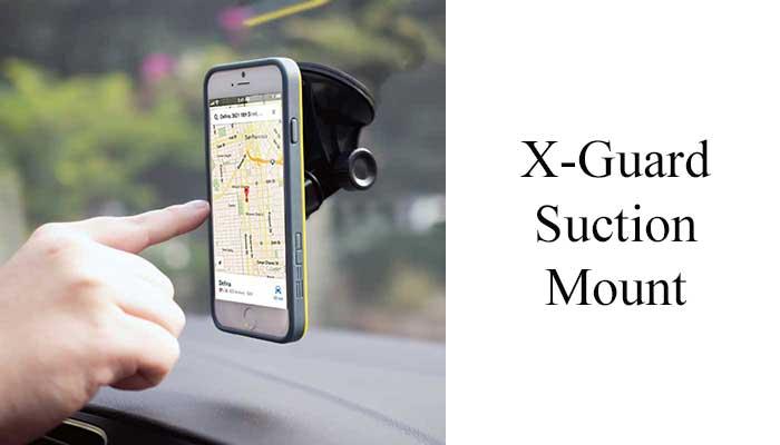 Автомобильный держатель X-Guard Suction Mount