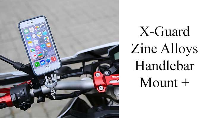 Держатель телефона на руль мотоцикла X-Guard Zinc Alloys Handlebar Mount +
