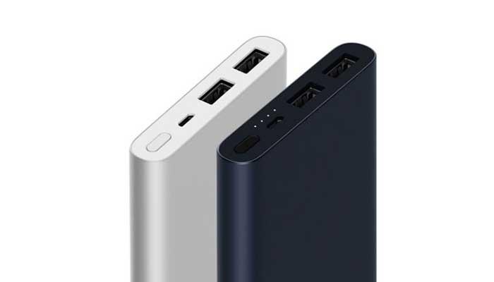 Xiaomi Mi 2 New Power Bank 10000 mAh 2 USB