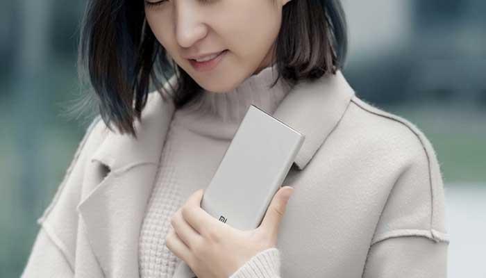 Портативная зарядка Xiaomi
