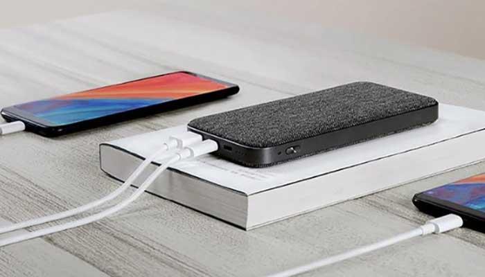 Xiaomi ZMI Mobile Power Bank QB910 10000 mAh Grey